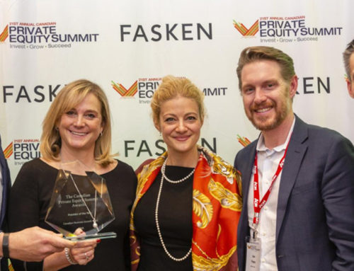 CBGF Recognized as the 2019 Provider of the Year by the Canadian Private Equity Summit